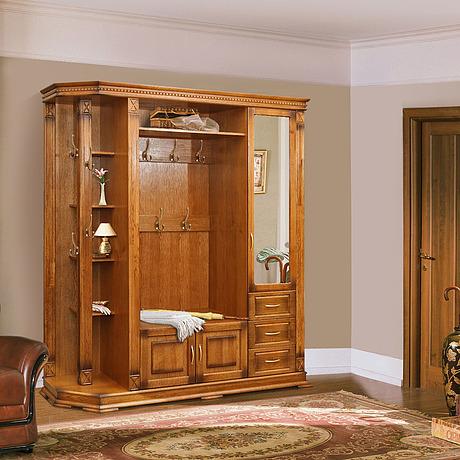 Мебель для прихожей из натурального дерева в челябинске